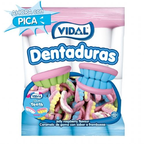 VIDAL GIANT SOUR TEETH x250x5p